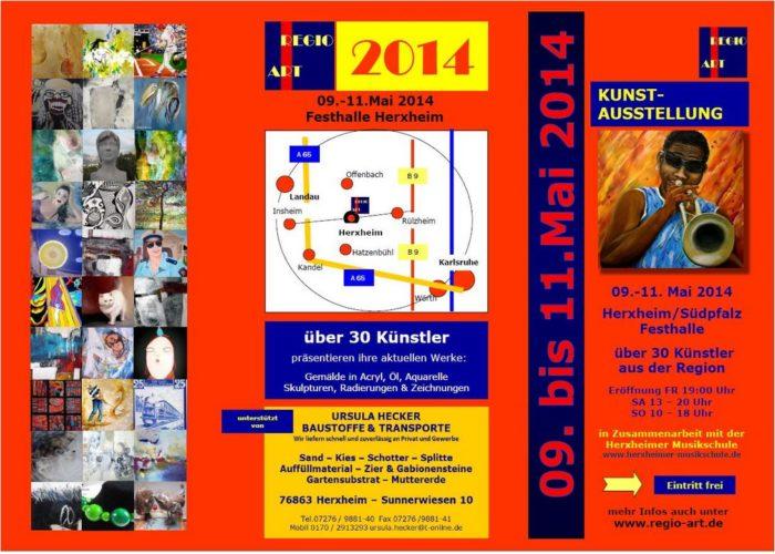 Regio-Art 2014 Flyer